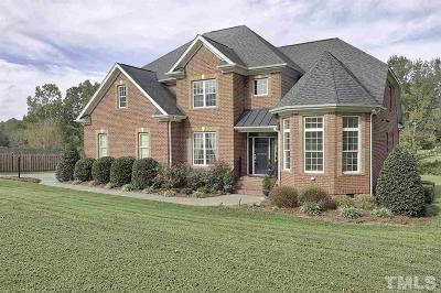 Wake Forest NC Single Family Home For Sale: $440,000