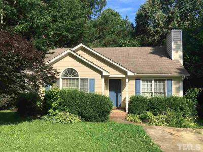 Raleigh Single Family Home For Sale: 2116 Leadenhall Way