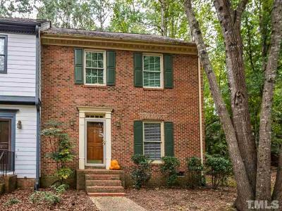Raleigh Townhouse For Sale: 562 Weathergreen Drive