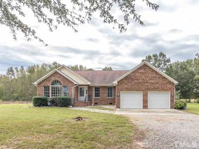 Mebane Single Family Home Contingent: 2533 Tom Anderson Road