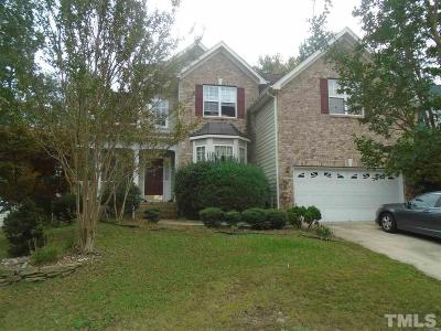 Raleigh Single Family Home For Sale: 5736 Beargrass Lane
