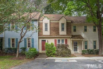 Raleigh Townhouse For Sale: 6413 English Oaks Drive