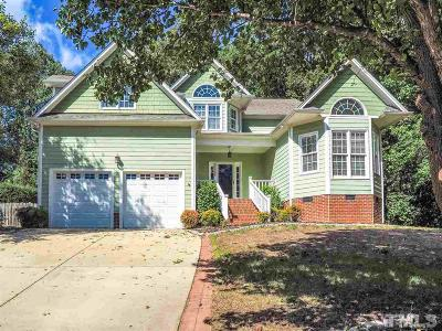 Raleigh Single Family Home For Sale: 10829 Grassy Creek Place