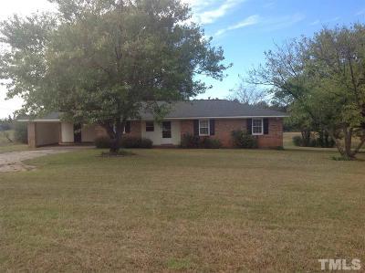Louisburg Single Family Home Pending: 2243 Leonard Road
