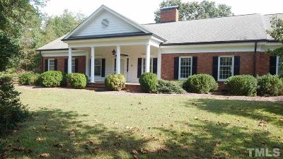 Wendell NC Single Family Home For Sale: $320,000