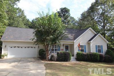 Fuquay Varina Single Family Home For Sale: 447 Victoria Hills Drive