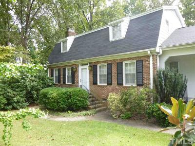 Raleigh Single Family Home For Sale: 3405 Doyle Road
