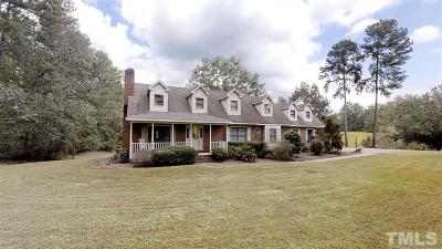 Lee County Single Family Home For Sale: 775 Lower Moncure Road
