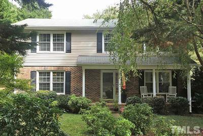 Raleigh Single Family Home For Sale: 3616 Morningside Drive