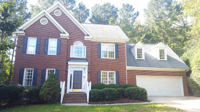 Raleigh Single Family Home For Sale: 3205 Claverack Way