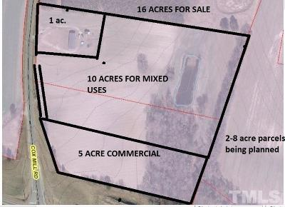 Commercial Lots & Land For Sale: 3351 Cox Mill Road