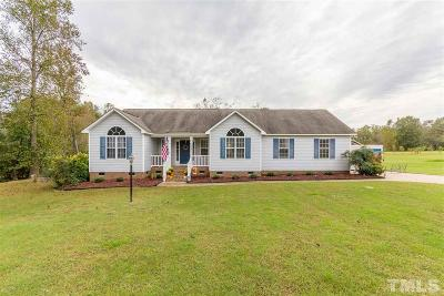 Garner Single Family Home Contingent: 128 Belve Drive