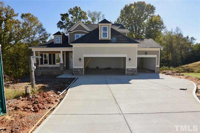 Johnston County Single Family Home Pending: 116 Good Morning Lane