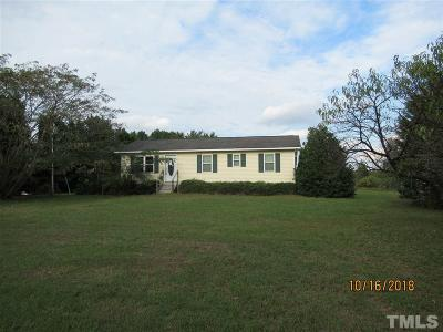 Johnston County Manufactured Home For Sale: 4894 Elevation Road