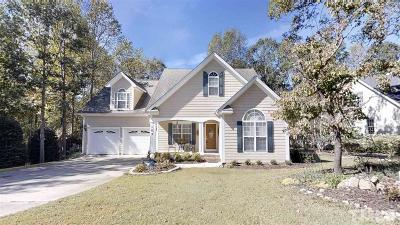 Clayton Single Family Home For Sale: 105 Hein Drive