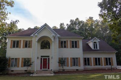 Chapel Hill Single Family Home For Sale: 125 Windy Ridge Road