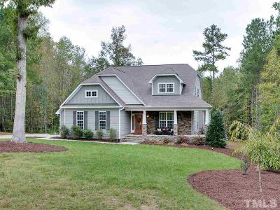 Pittsboro Single Family Home Contingent: 97 Valley View Lane