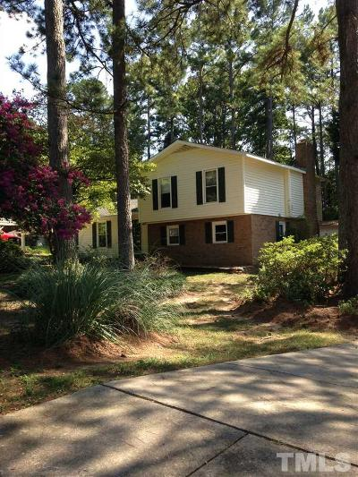 Raleigh Single Family Home For Sale: 1209 Shadyside Drive