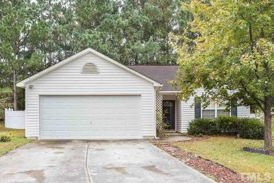 Wake County Single Family Home Contingent: 3508 Birkwood Court