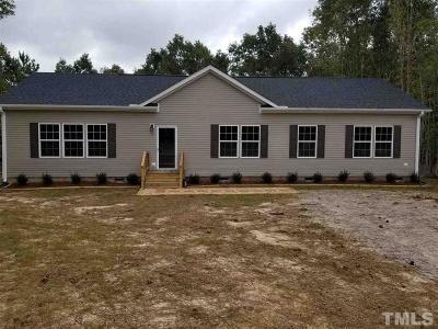 Louisburg Single Family Home For Sale: 50 Bogey Lane