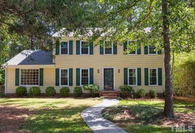Chapel Hill Single Family Home Contingent: 2507 Foxwood Drive