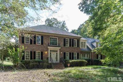 Durham Single Family Home For Sale: 2305 Vintage Hill Drive