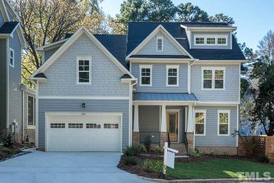 Cary NC Single Family Home For Sale: $749,900