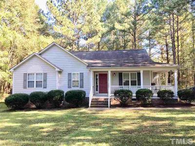 Johnston County Rental For Rent: 315 Gordon Farm Drive