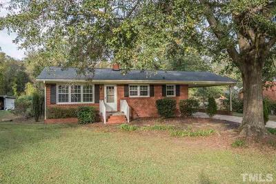 Fuquay Varina Single Family Home For Sale: 218 Coley Farm Road