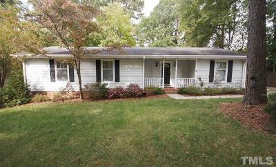 Raleigh Single Family Home For Sale: 4600 Pemberton Drive