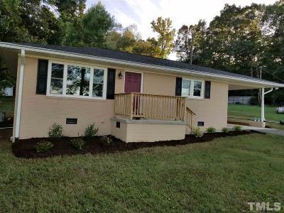 Hillsborough Single Family Home For Sale: 2309 Tomahawk Trail