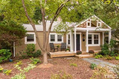 Raleigh Single Family Home For Sale: 1624 Bickett Boulevard
