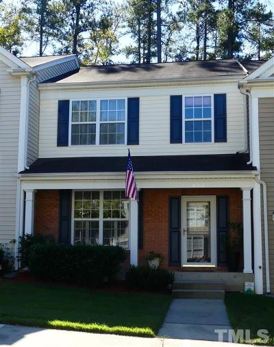 Raleigh Townhouse For Sale: 4212 Vienna Crest Drive