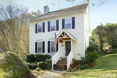 Raleigh Single Family Home For Sale: 3801 Hollycrest Court