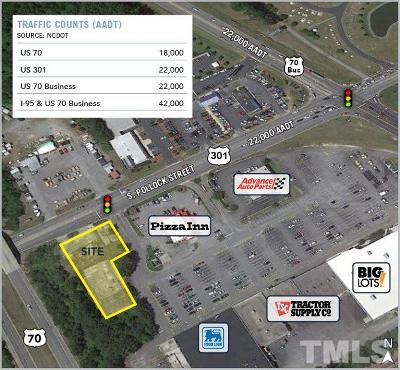 Johnston County Commercial Lots & Land For Sale: 1437 S Pollock Street