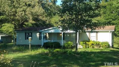 Garner Single Family Home For Sale: 10490 Cleveland Road