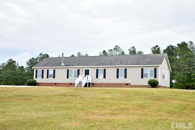 Angier Single Family Home For Sale: 148 Sandee Drive