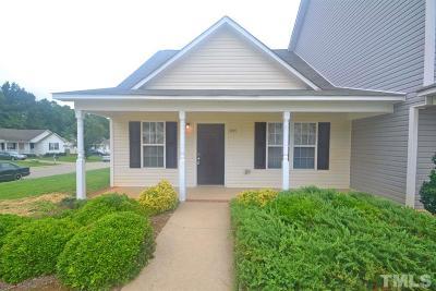 Johnston County Rental For Rent: 101 Blackthorne Court