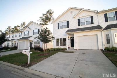 Wake County Townhouse For Sale: 110 Misty Groves Circle