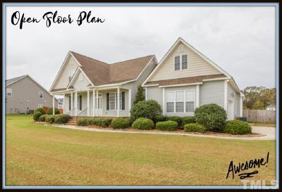 Sampson County Single Family Home For Sale: 81 Waterwheel Lane