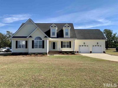 Benson Single Family Home For Sale: 95 Heatherstone Court