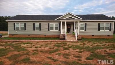 Johnston County Single Family Home For Sale: 12166 Buck Road