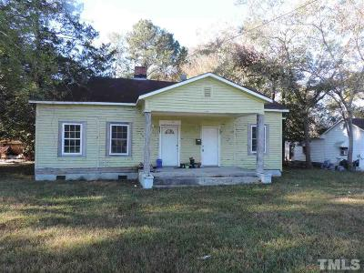 Johnston County Multi Family Home For Sale: 507A W Dr Martin Luther King Jr Highway