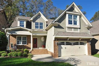 Pittsboro Single Family Home Contingent: 321 Windsong Drive