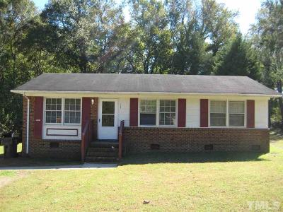 Zebulon Single Family Home For Sale: 312 E Vance Street