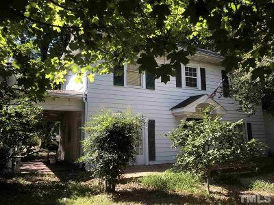 Raleigh Single Family Home For Sale: 1821 Glenwood Avenue