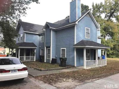 Raleigh Multi Family Home For Sale: 4608 Kilcullen Drive