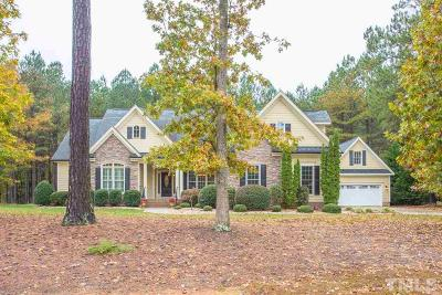 Youngsville Single Family Home Contingent: 105 Princeton Manor Drive