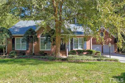 Cary NC Single Family Home For Sale: $400,000