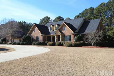 Wendell Single Family Home For Sale: 575 Old Zebulon Road